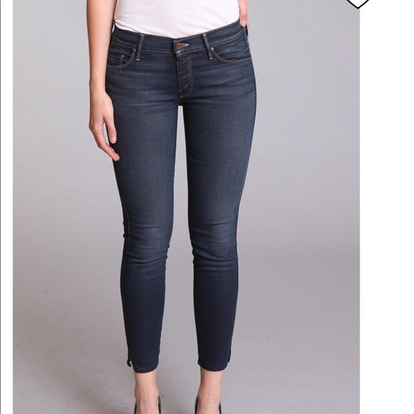 3c6ccf70ae7 MOTHER Jeans | The Vamp Skinny Ankle Slit | Poshmark